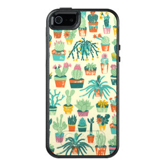 Colorful Cactus Flower Pattern OtterBox iPhone 5/5s/SE Case
