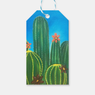 Colorful Cactus Gift Tags
