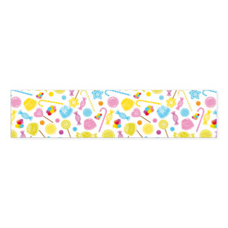 Colorful Candy Lollipop GumDrop Party Supplies Napkin Band