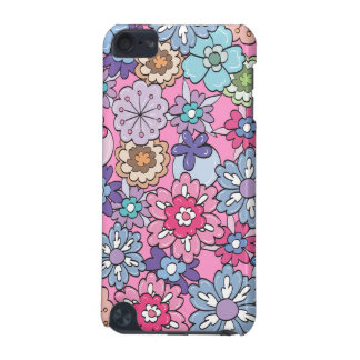 Colorful Cartoon Flowers iPod Touch 5G Case