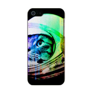 colorful cats - Cat astronaut - space cat Incipio Feather® Shine iPhone 5 Case