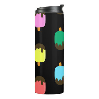 Colorful Chocolate covered Ice pop thermal tumbler