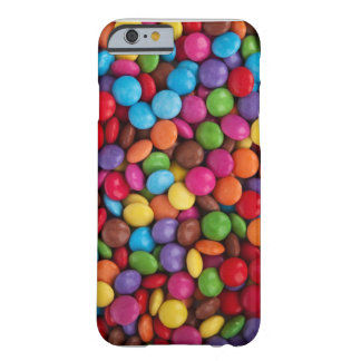 Colorful Chocolate Little Round Button Candy Barely There iPhone 6 Case