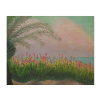 COLORFUL CLEARWATER FLORIDA Wood Wall Art Wood Canvases