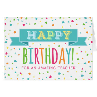 Teachers birthday card etamemibawa teachers birthday card bookmarktalkfo Images