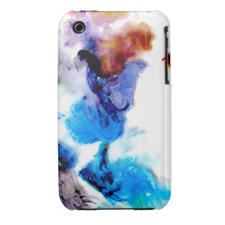 Colorful cool abstract paints iPhone 3G-3GS case iPhone 3 Case-Mate Case