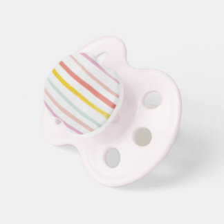 Colorful crayon BooginHead pacifier