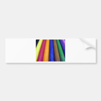 Colorful Crayons Bumper Sticker
