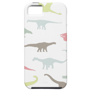 Colorful cute dinosauruses iPhone 5 covers