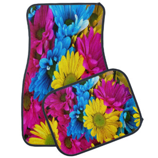 Colorful Daisies Cat matts Car Mat