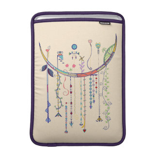 Colorful Dangling Art Macbook Tablet Sleeve