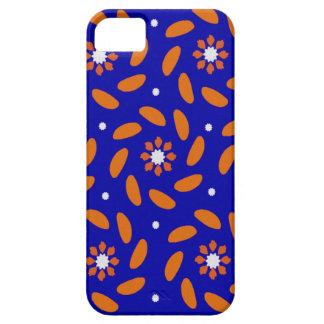 Colorful Design,Blue,Orange color. iPhone 5 Cases