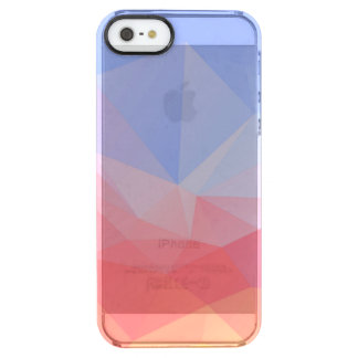 Colorful Diamond Cut Closeup 2 Clear iPhone SE/5/5s Case