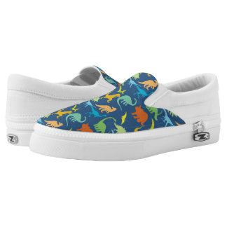 Colorful Dinosaurs Printed Shoes
