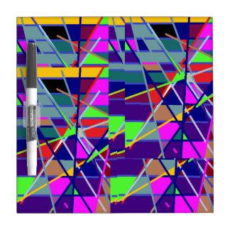Colorful Dry Erase Board
