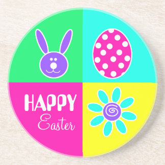 Colorful Easter Coasters