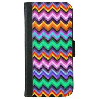 colorful ethnic style iPhone 6 wallet case