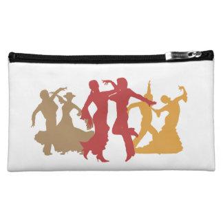 Colorful Flamenco Dancers Cosmetic Bag