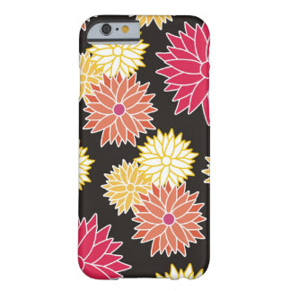 Colorful Floral Pattern Barely There iPhone 6 Case