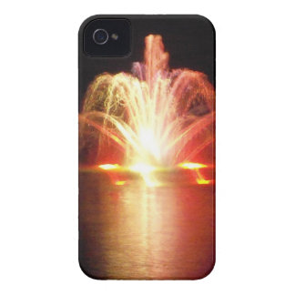Colorful Fountain at Night in the Park iPhone 4 Case-Mate Case