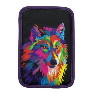 Colorful fox sleeve for iPad mini