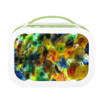 Colorful, Funky Floral Lunchbox