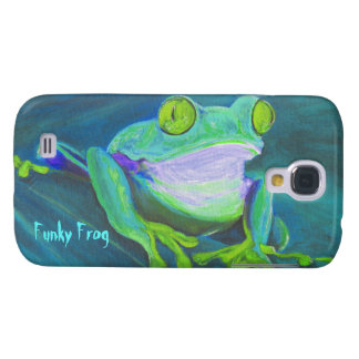 Colorful funky frog HTC Vivid phone case