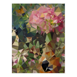Colorful Geometric Patterns | New Address Postcard