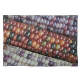 Colorful Glass Gem Corn on the Cob Placemat