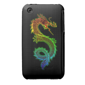 Colorful Glowing Dragon Case-Mate iPhone 3 Cases