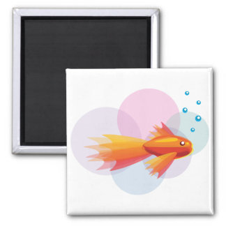 Colorful Goldfish Magnet