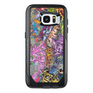 Colorful graffiti design art OtterBox samsung galaxy s7 edge case