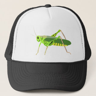 Colorful Green Grasshopper Trucker Hat