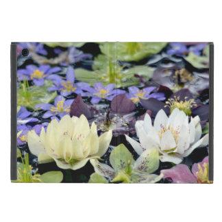 Colorful hellebores flowers iPad mini case