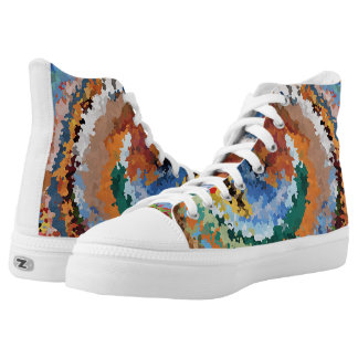 colorful high tops