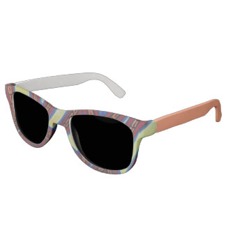Colorful highways sunglasses