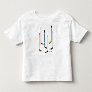 Colorful Hockey Sticks Toddler Toddler T-Shirt