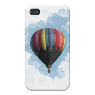 Colorful Hot Air Balloon Case For The iPhone 4