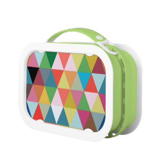 Colorful Kaleidoscope Patterned Lunch Box