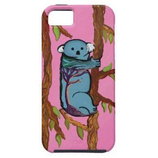 Colorful Koala on strong case