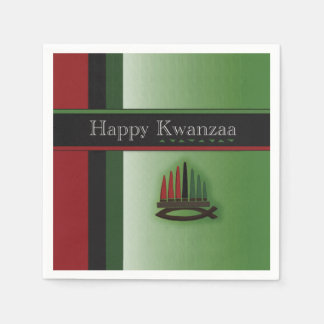 Colorful Kwanzaa Kwanzaa Party Paper Napkins