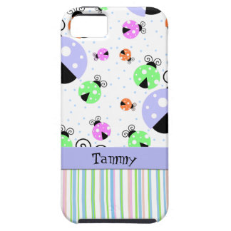 Colorful Ladybugs iPhone 5 Case