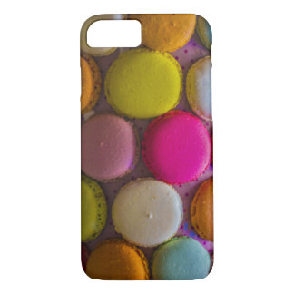 Colorful Macarons Tasty Baked Dessert iPhone 8/7 Case