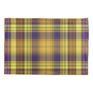 Colorful Madras Pillowcase