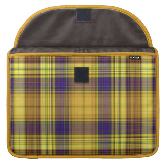 Colorful Madras Plaid MacBook Pro Sleeve