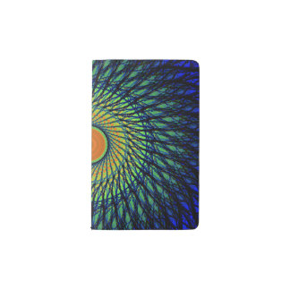 Colorful Mandala Pocket Moleskine Notebook