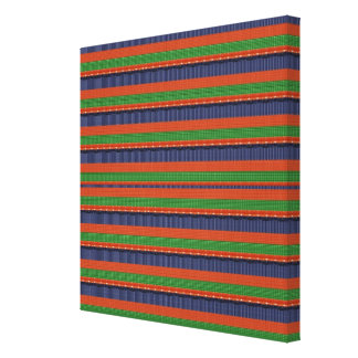 COLORFUL Mania Stripes : Outstanding ColorShades Canvas Print