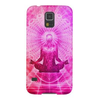 Colorful Meditation Spiritual Yoga Galaxy S5 Cover