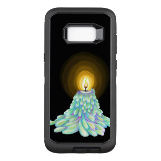 Colorful Melting Candle art by Virtue of fashion OtterBox Defender Samsung Galaxy S8+ Case