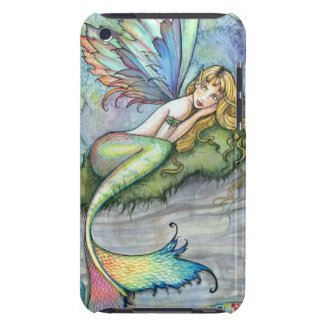Colorful Mermaid and Carp Fish Fantasy Art Case-Mate iPod Touch Case